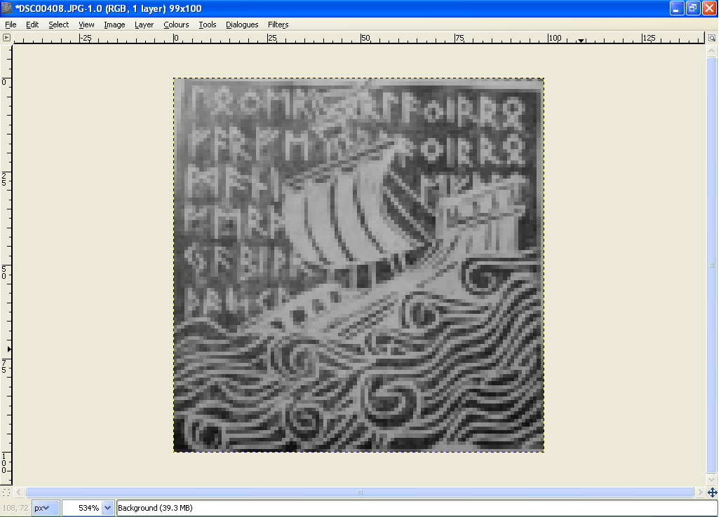 Line Drawing Gimp : Tutorial turn an image photo in a chart with gimp designs by