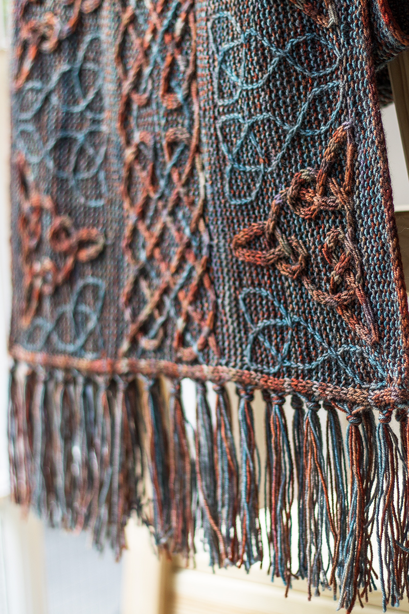 Lindisfarne shawl | Designs by Lucy Hague