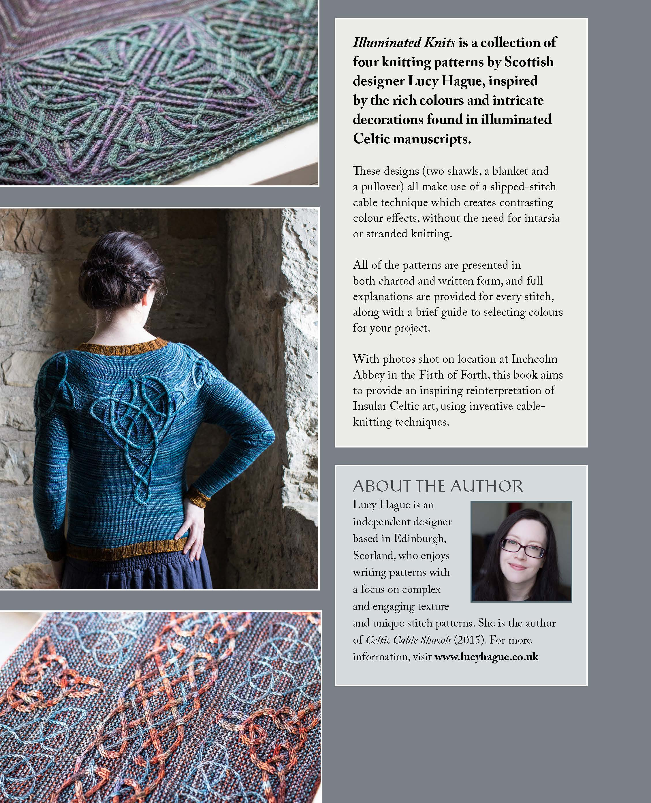 cable knitting | Designs by Lucy Hague